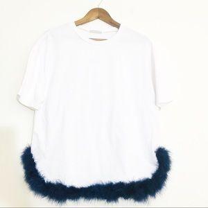 Zara Trafaluc Top Size Large
